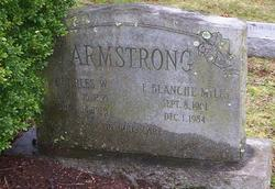 Ella Blanche <I>Mills</I> Armstrong