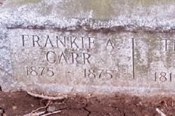 Frankie A Carr