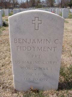 Benjamin C Fiddyment