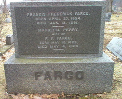 "Francis Frederick ""Frank"" Fargo"