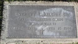 Everett Lee Ailshie, Sr