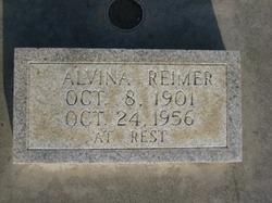 Alvina <I>Riffel</I> Reimer