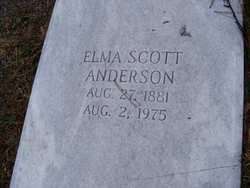 Elma Faith <I>Scott</I> Anderson