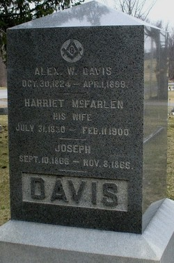 Harriet <I>McFarlen</I> Davis