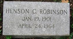 Henson C Robinson