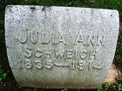 Julia Ann <I>Whitmer</I> Schweich