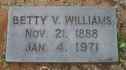 Betty V. <I>Bartholomew</I> Williams