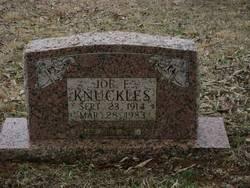 Joe Elzie Knuckles