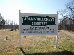 Adams-Hillcrest Cemetery