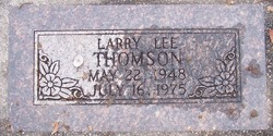 Larry Lee Thomson