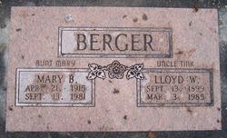 Mary Ellen <I>Bennett</I> Berger