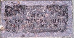 Erma Irene <I>Thompson</I> Flint