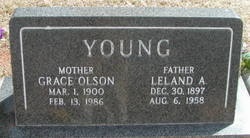 Grace Sophia <I>Olson</I> Young