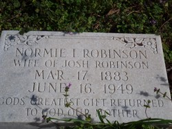 Normie I. Robinson