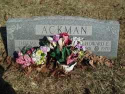 Thelma B <I>Shaw</I> Ackman