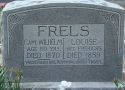 Louise <I>Frerichs</I> Frels