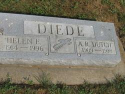 """Adolph Rueben """"Dutch"""" Diede"""