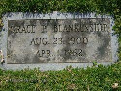 Grace Powell <I>Etheridge</I> Blankenship