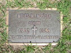 Miles M Mosley