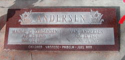 Madge Clarice <I>Yergensen</I> Andersen