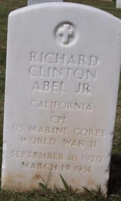 Corp Richard Clinton Abel, Jr
