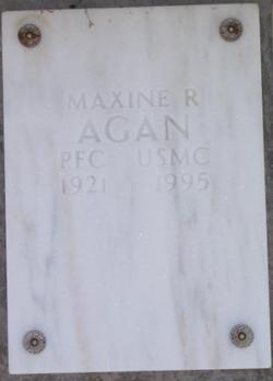 PFC Maxine Rosalind Agan