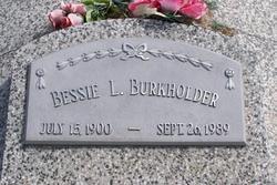 Bessie L. <I>Garner</I> Burkholder