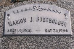 Marion J. Burkholder