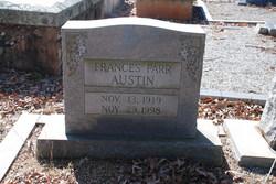 Frances <I>Farr</I> Austin