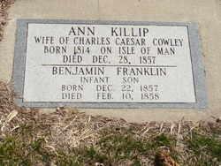 Benjamin Franklin Cowley