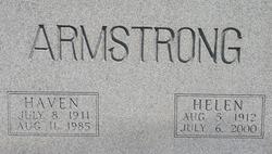 Helen <I>Mounts</I> Armstrong