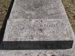 John William Wehrly