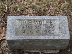 """Arby Augustine """"R.B."""" Wolfe"""