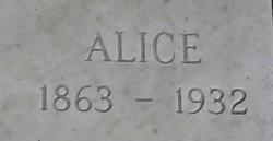 Alice <I>Hickerson</I> Hackett
