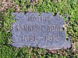 Frances L <I>Peddicord</I> Adams