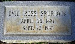 """Eva Durant """"Evie"""" <I>Ross</I> Spurlock"""