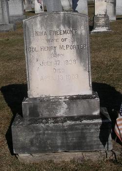 Nina <I>Fremont</I> Porter