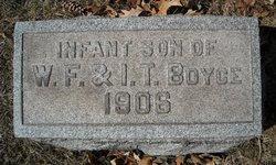 Infant Son Boyce