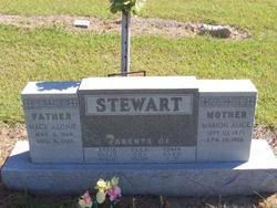 Mary Alice <I>Tucker</I> Stewart