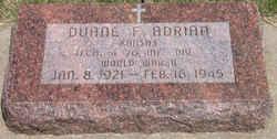 Duane F. Adrian