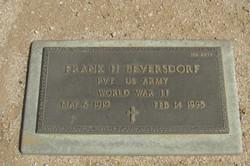 Frank H Beversdorf