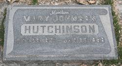 Mary J Hutchinson