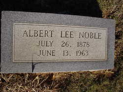 Albert Lee Noble
