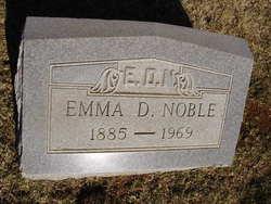 Emma Doshia <I>Cartwright</I> Noble