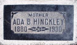 Ada <I>Bitner</I> Hinckley