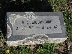 "Alfred Sidney ""A C"" Woodrome"