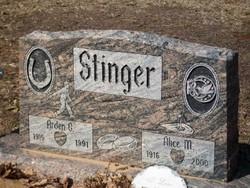 Alice <I>Metcalf</I> Stinger