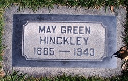May <I>Green</I> Hinckley