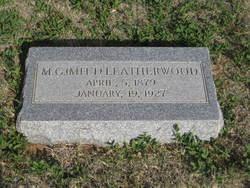 """Milton Garrison """"Mitt"""" Leatherwood"""