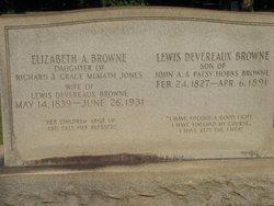 Lewis Devereaux Browne